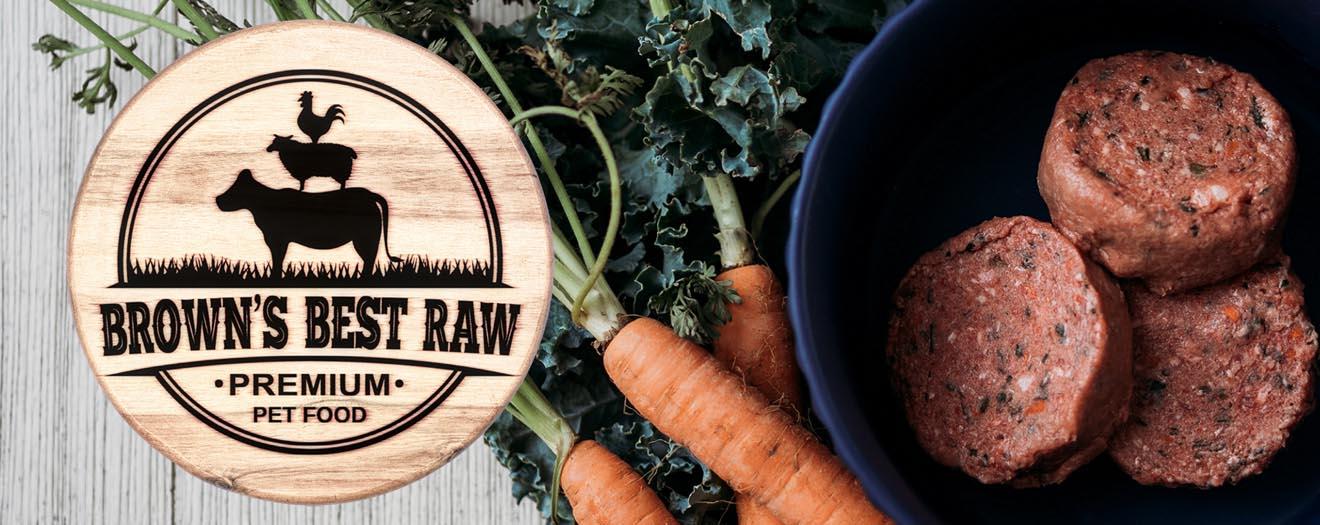 raw Beef dog food